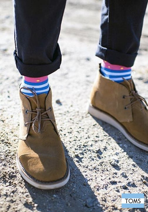 529d54627c Hit the streets in style with TOMS Men s Mateo Chukka Boots.
