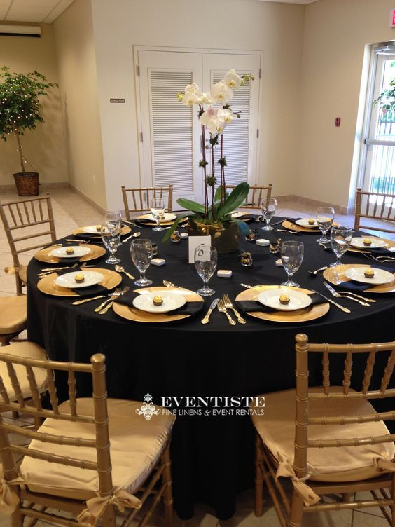 Navy Blue Tablecloth Gold Charger Plates Google Search Black