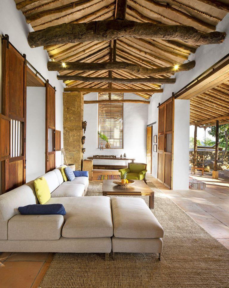 Conozca La Increible Renovacion De Esta Casa En Barichara Santander En 2020 Barichara Diseno Casas Campestres Decoracion Casas De Campo