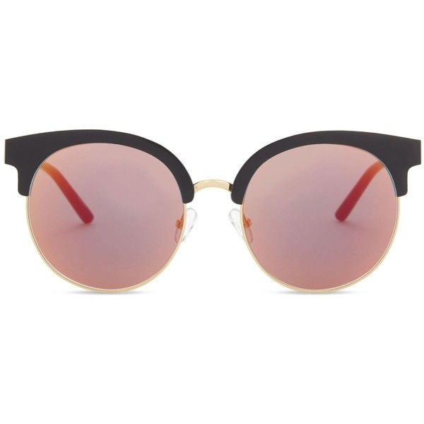 4c8a8288ecb Matthew Williamson Mw160 cat-eye sunglasses ( 195) ❤ liked on Polyvore  featuring accessories