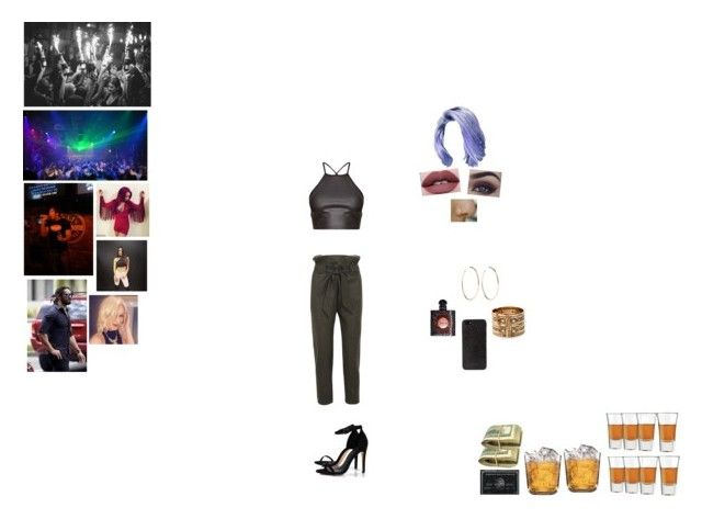 """Clubbing with Seth"" by nikki-usmc92 ❤ liked on Polyvore featuring Vivienne Westwood Anglomania, Boohoo, Kat Von D, Libbey, Black Apple, Yves Saint Laurent, DKNY, Jennifer Fisher and Lucky Brand"