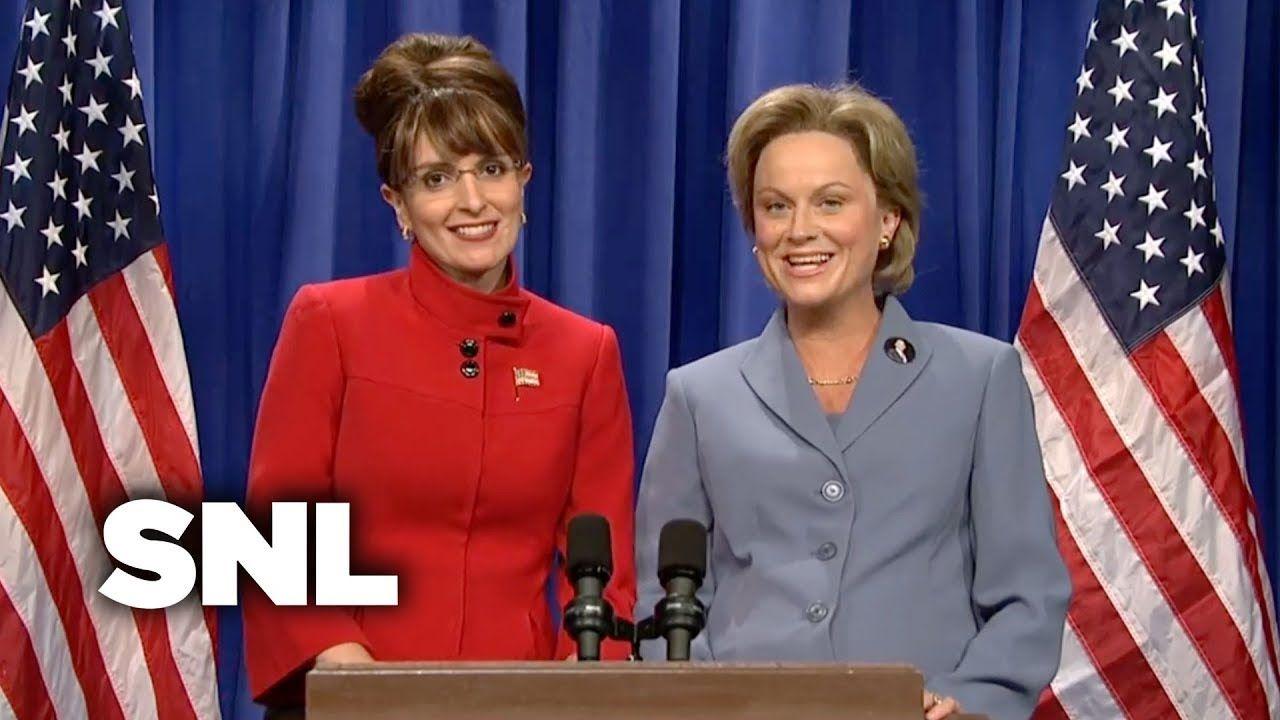 Sarah Palin And Hillary Address The Nation Snl Youtube