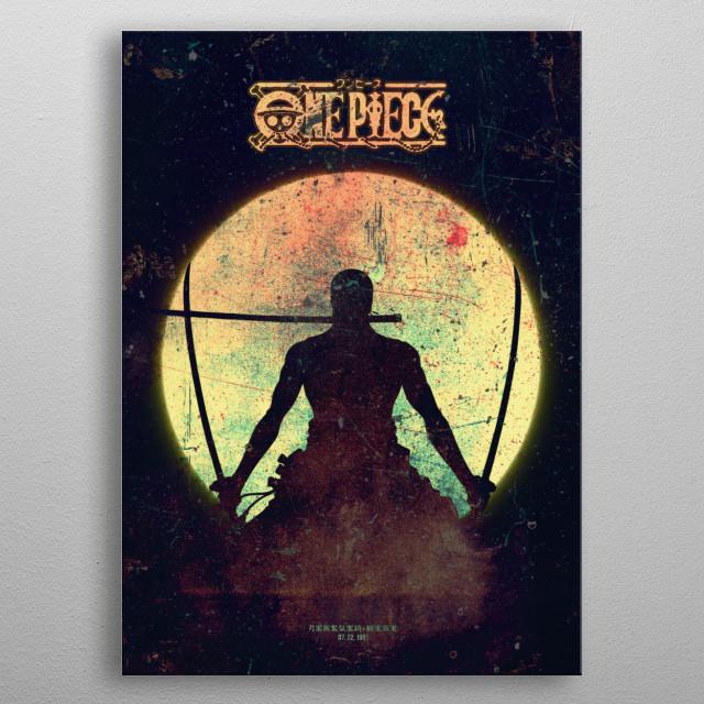 3 SWORD Minimalistic Poster Print | metal posters - Displate | Displate thumbnail