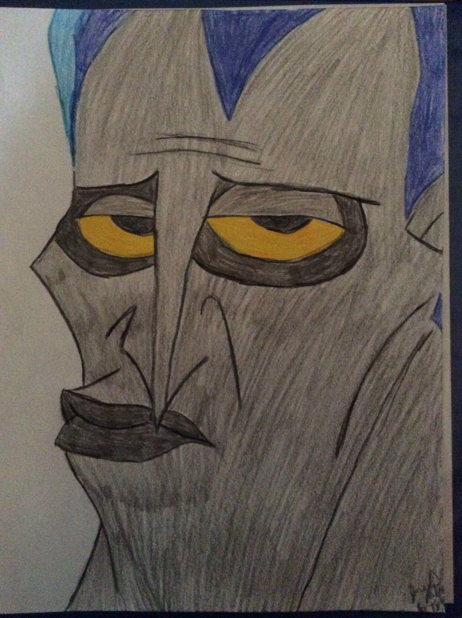 Disney Hades-drawing