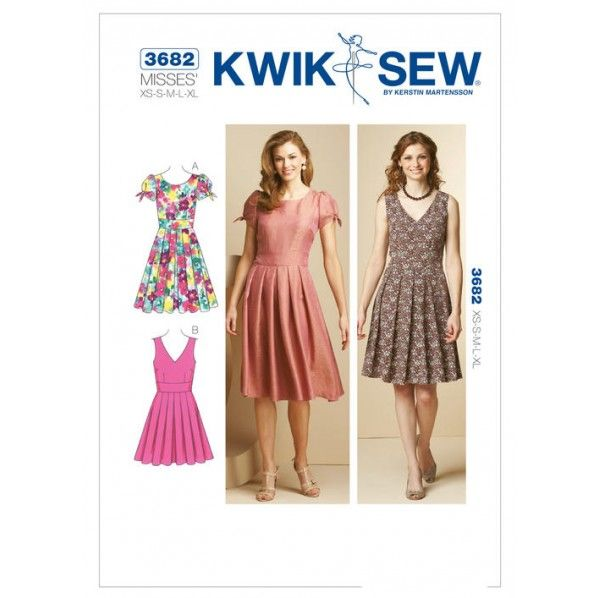 Kwik Sew Pattern 3682- Misses Dresses | Sewing Patterns | Pinterest
