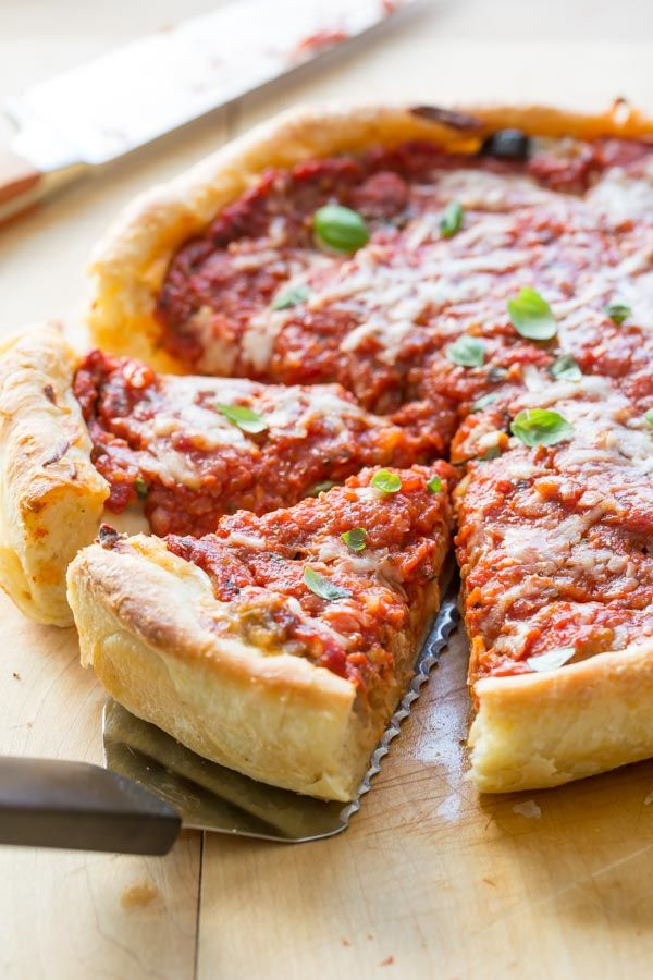 Chicago Style Deep Dish Pizza Dinner/Lunch - Cheese Pinterest - California Pizza Kitchen Chicago