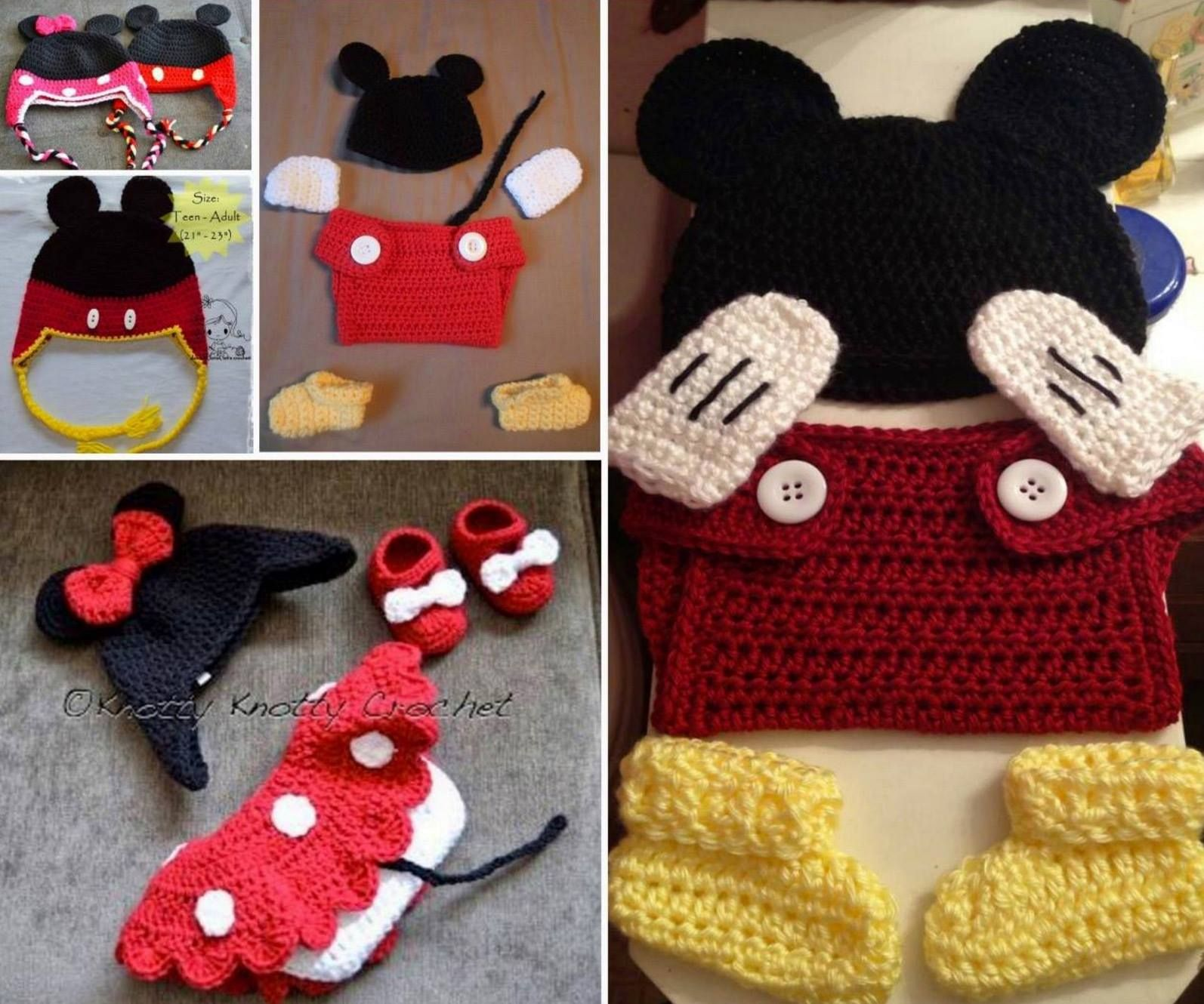Magnificent Free Minnie Mouse Crochet Patterns Ideas - Easy Scarf ...