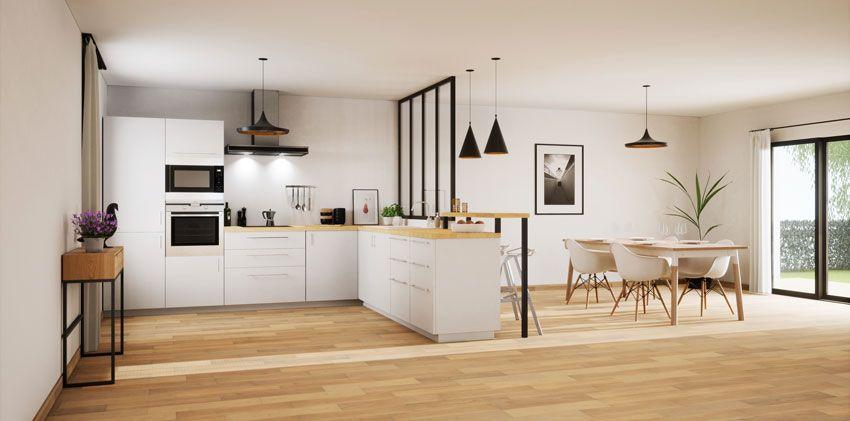 Open Space 40 Idee Per Arredare Cucina E Soggiorno In Un Unico
