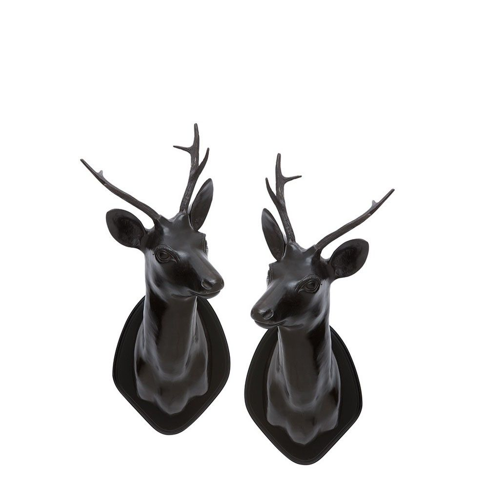 Set of and stag head on pinterest