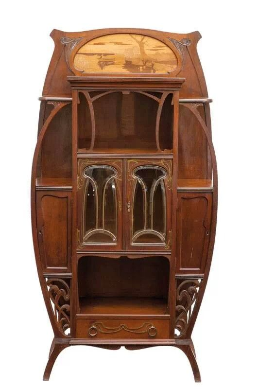 Art Nouveau Gabinete | muebles | Pinterest | Art nouveau ...