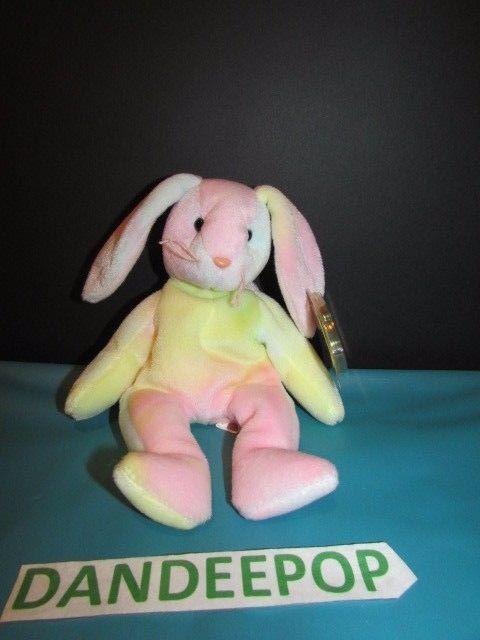 7cf6374ee2d TY Retired Beanie Baby Hippie Rabbit Bunny Rare Error 1998 1999 Ty  Ty   Beanie  beaniebabies  beaniebaby  Hippie  bunny  rabbit  rare  dandeepop  Find me at ...