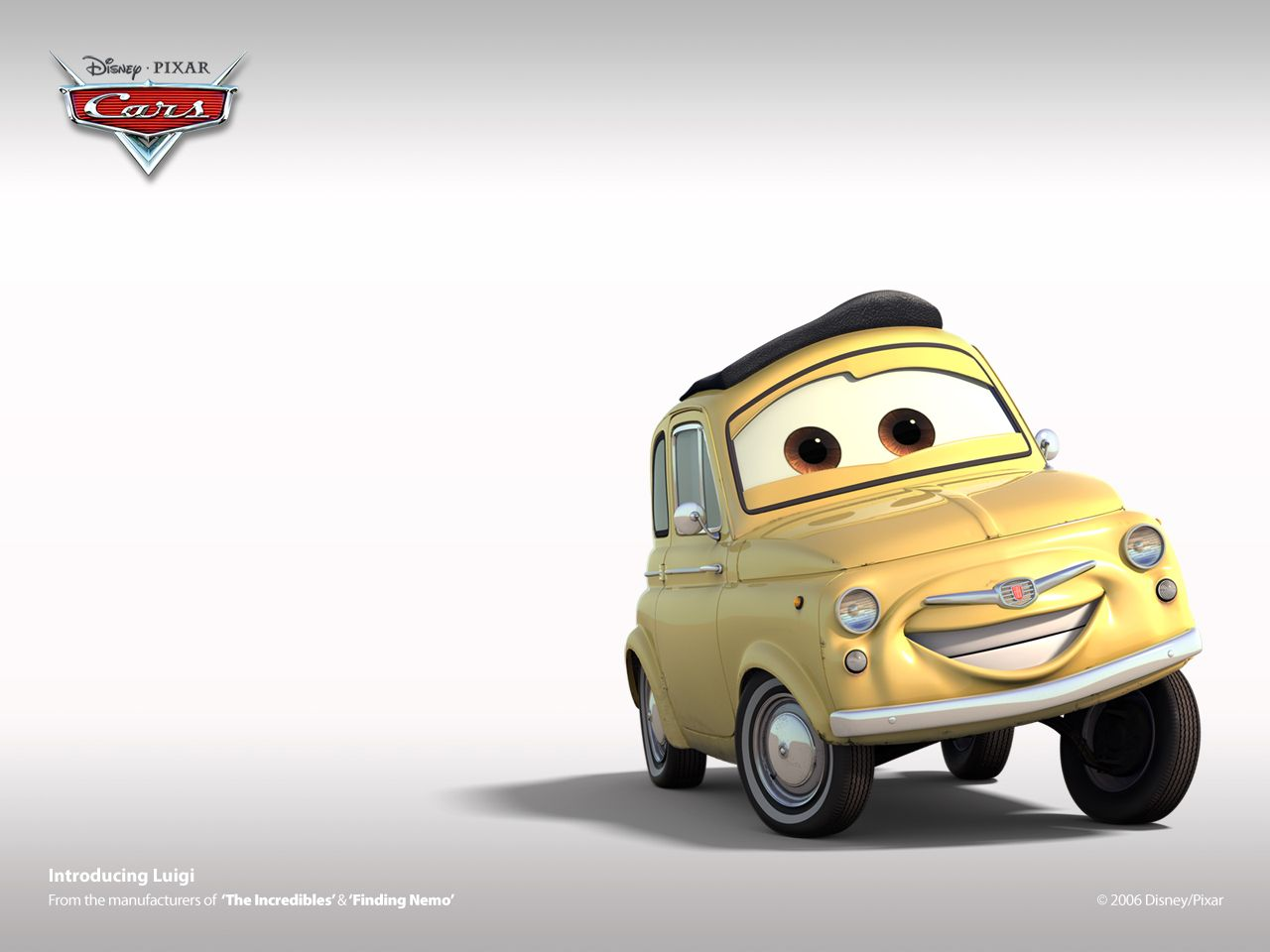 Cars The Movie Wallpapers Back