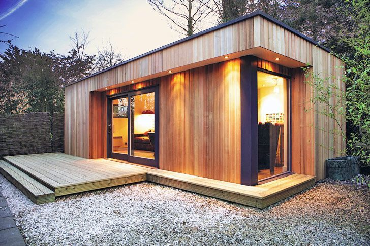 Westbury Garden Rooms Creates Green-Roofed Backyard Retreats ...