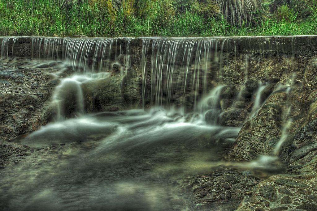 Waterfall in Oman