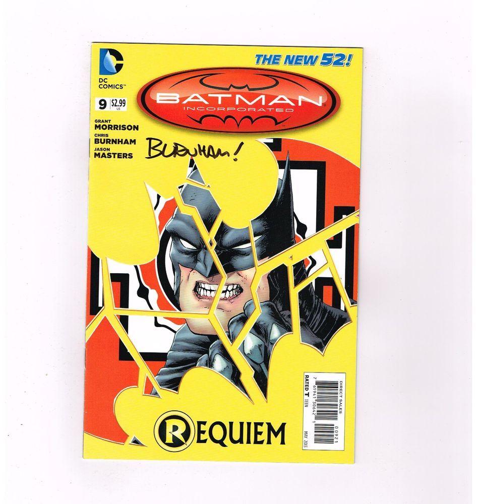 BATMAN INC #9 Great Burnham variant! NM! Signed by Chris Burnham!  http://www.ebay.com/itm/-/301848113517?roken=cUgayN&soutkn=6sdDhS