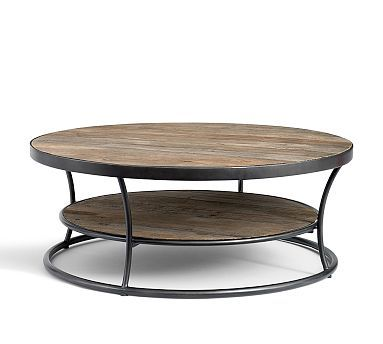 Bartlett Metal Amp Reclaimed Wood Table Set 1 Coffee Amp 2