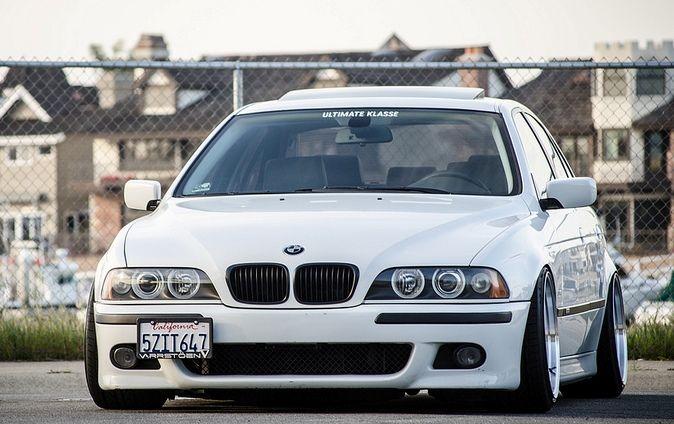 Bmw E39 M5 White With Black Interior