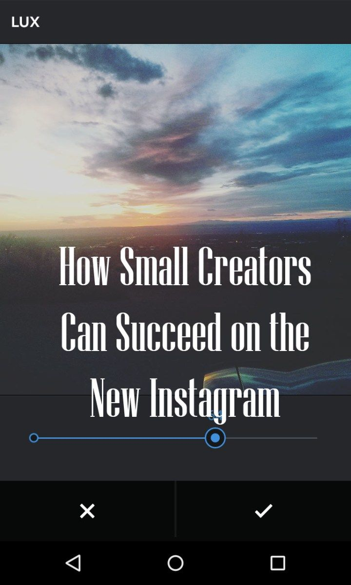 How Small Creators Can Still Succeed on Instagram