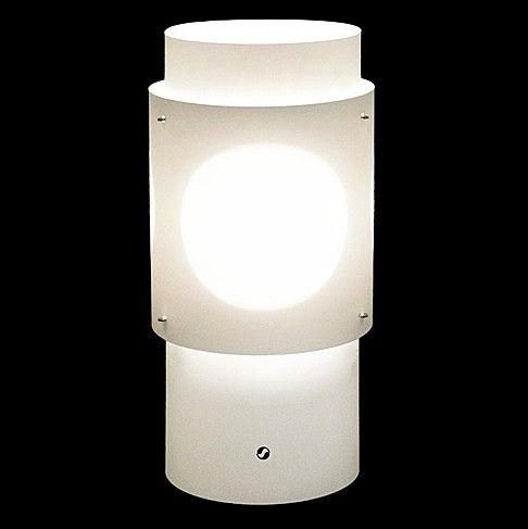Luna -katto- tai pöytävalaisin.  31,5x15,5x15,5 cm. Voit käyttää valaisinta joko pöytä- tai kattomallisena valitsemalla siihen oikean johtosarjan.