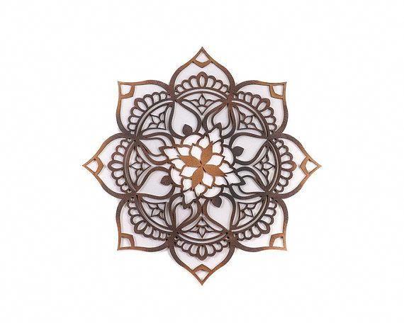Mandala, Wood Wall Art, Wood Décor, Living Room Wall Art, Bohemian Decor, Moroccan Decor, Mandala Wall Art, Ethnic Decor, Indian Decor, Boho