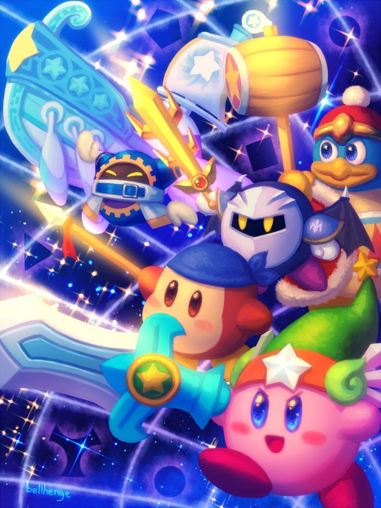 Return To Dream Land By Bellhenge On Deviantart Kirby Character