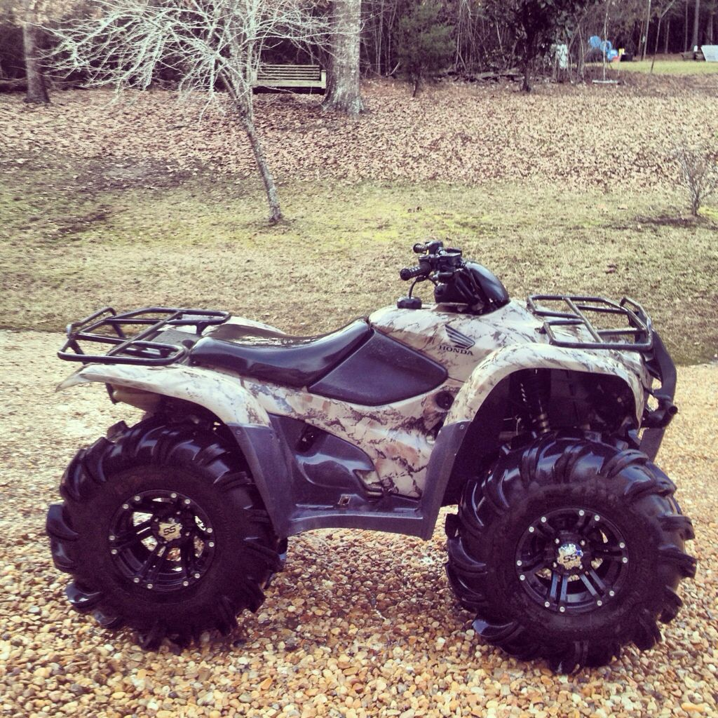 Honda, ATV, off-road - what can be nicer to the heart