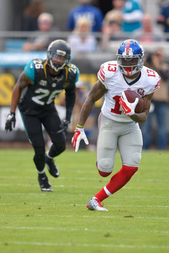 Giants Vs Jaguars Giants Wr And Newest Superstar Odell Beckham