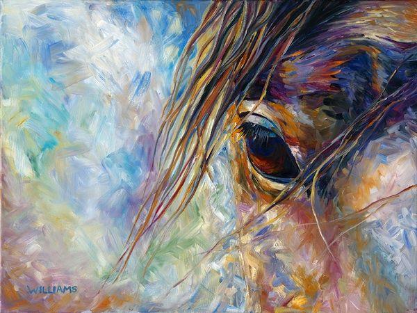 Soul Gazing - By Equine Artist Diane Williams