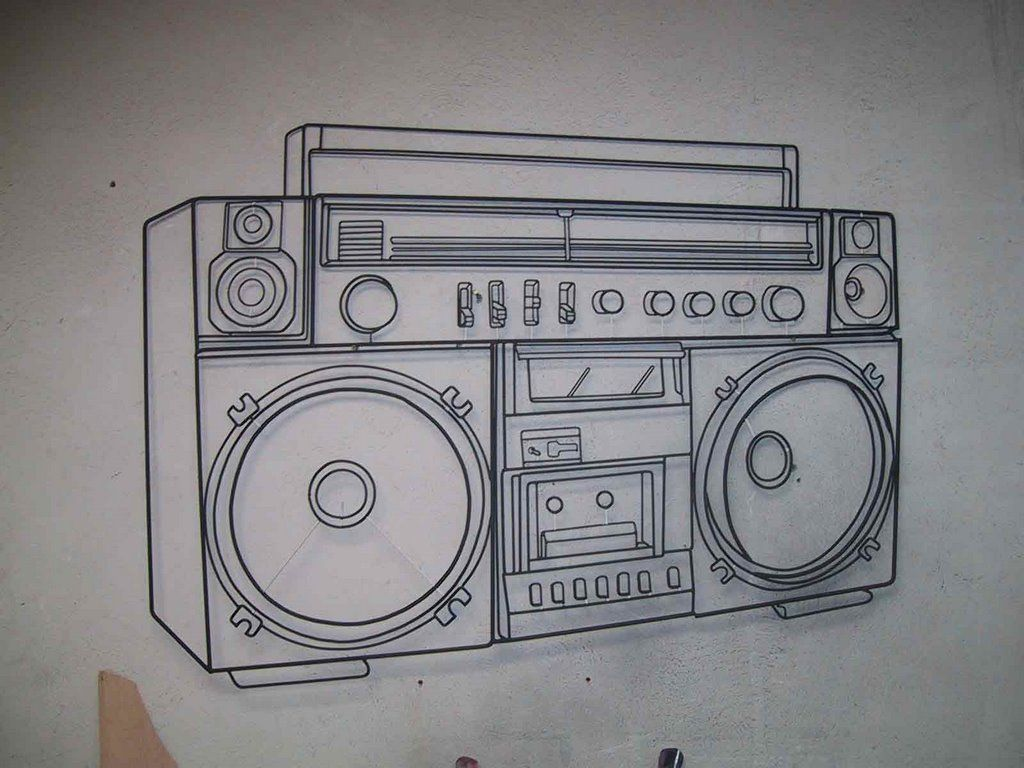 Image gallery for : boom box tattoo | Boomboxes ...