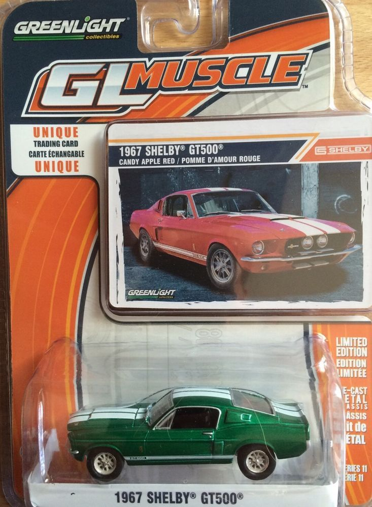 Greenlight 1967 Shelby Gt500 Gl Muscle Green Machine 1 64 Super Rare 1967 Shelby Gt500 Shelby Gt500 Shelby