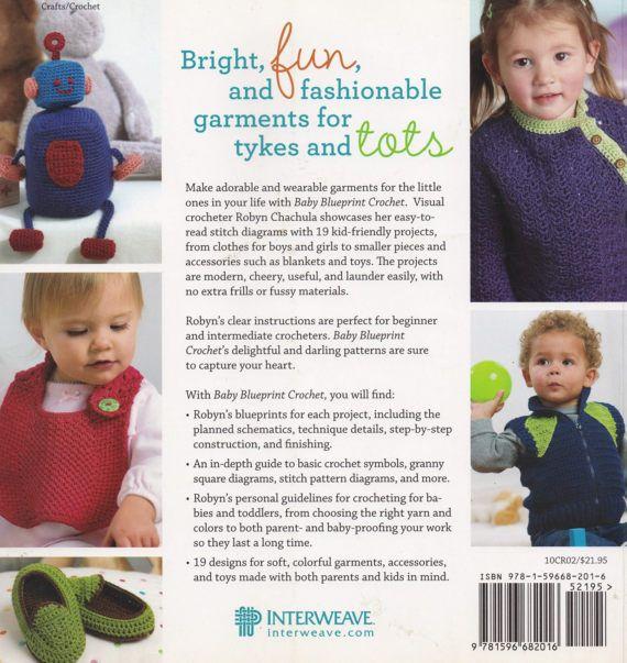 Baby blueprint crochet interweave crochet pattern book 52195 baby baby blueprint crochet interweave crochet pattern book 52195 baby toddler clothes blankets slippers toys more new malvernweather Gallery