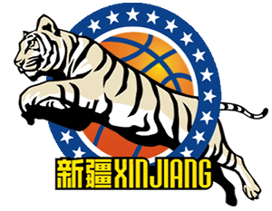 Xinjiang Tianshan R-C Bank Flying Tigers, Ürümqi, Xinjiang, China -Chinese Basketball Association- Division: Northern #XinjiangFlyingTigers #Ürümqi #CBA (L20546)