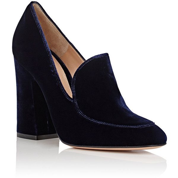 Gianvito Rossi Suede Loafer Pumps outlet fashion Style buy cheap visit new sale wiki big sale cheap online I02CI