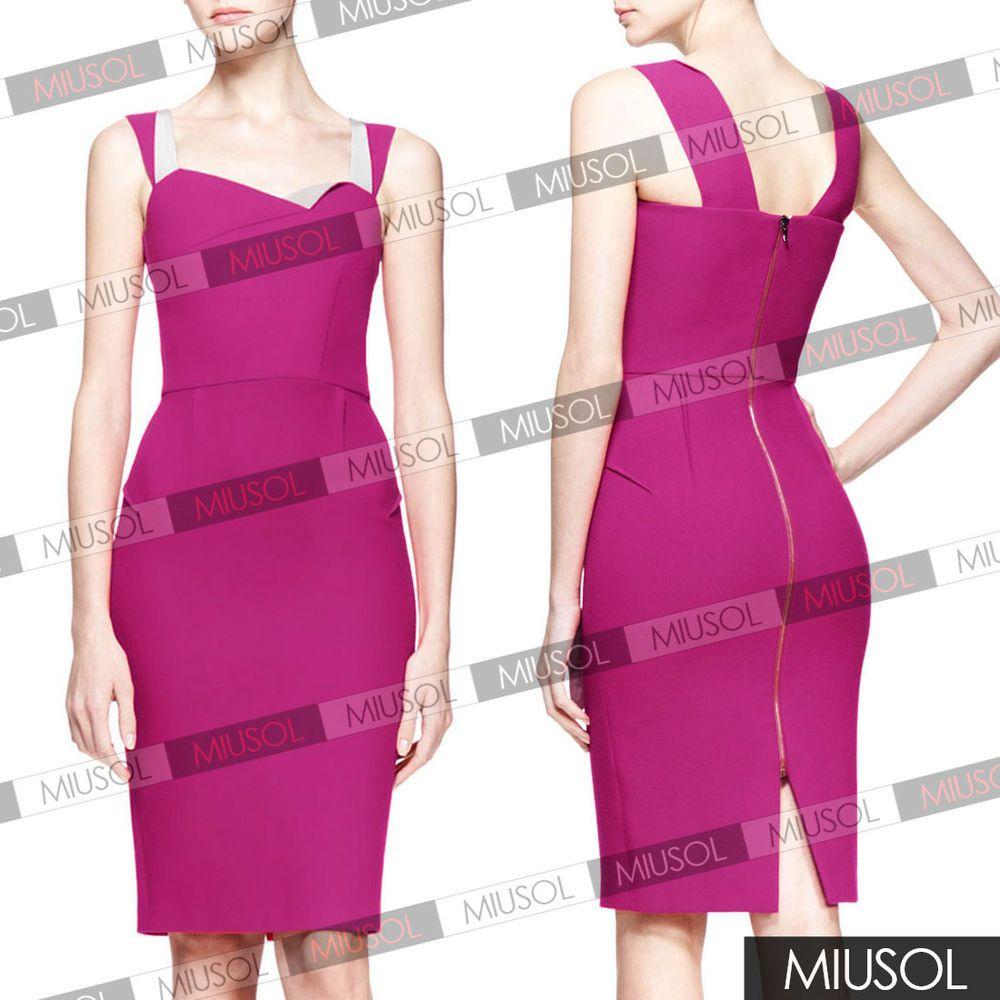 Women's Elegant Front Special Wrinkle Sleeveless Cocktail Dress