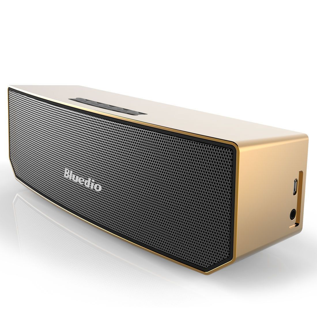 Bluedio Bs 3 Bluetooth Wireless Stereo 3d Portable Mini Mic Home Speakers Gold Bluetooth Speakers Portable Wireless Speakers Portable Wireless Speakers Bluetooth