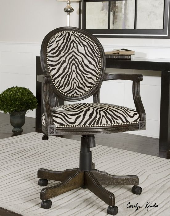 Stylish Desk Chair From Uttermost