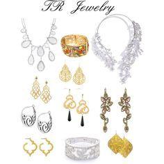 Theatrical Romantic jewellery.