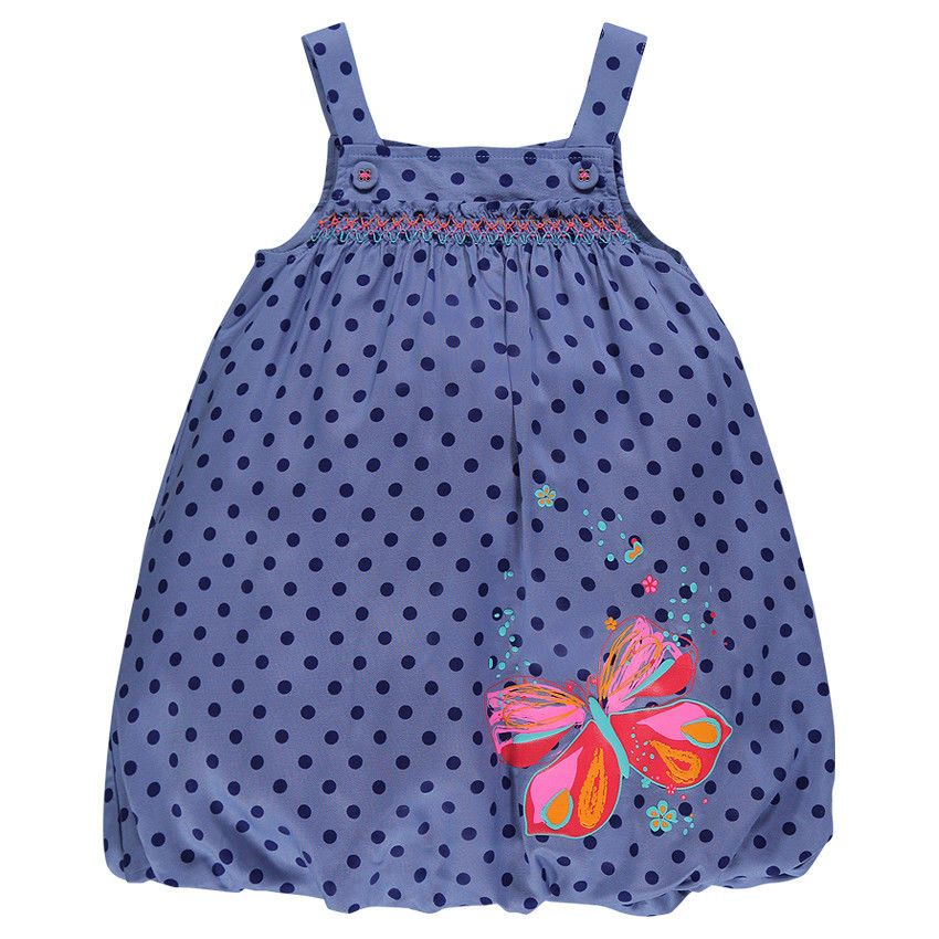Ball Gown with polka dot print butterfly print - EN Orchestra