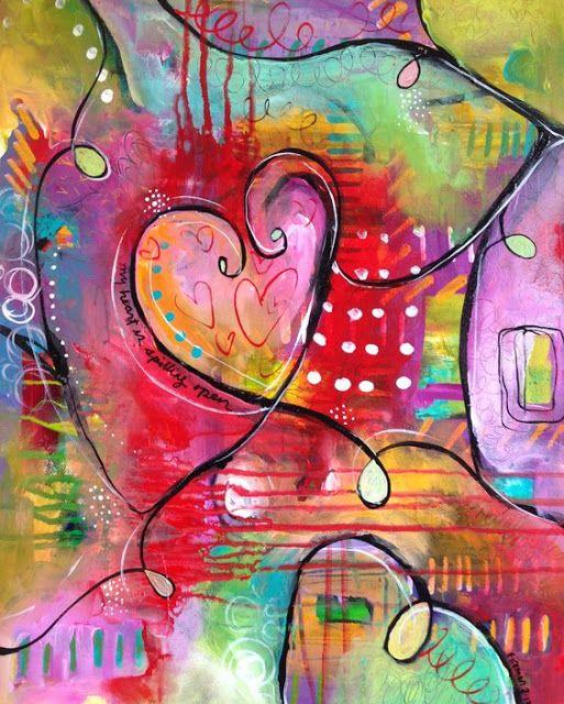 Journal D Art Quebec Cours D Art Peinture Abstraite Comment