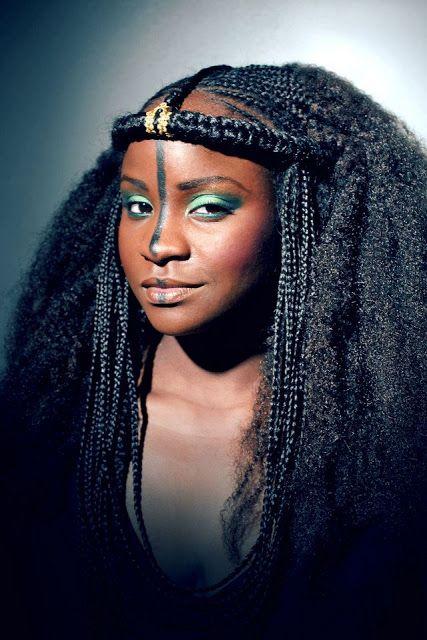 coiffure ethnique femme