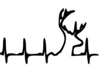 Download country deer, deer heartbeat, ... | Cricut vinyl, Car ...