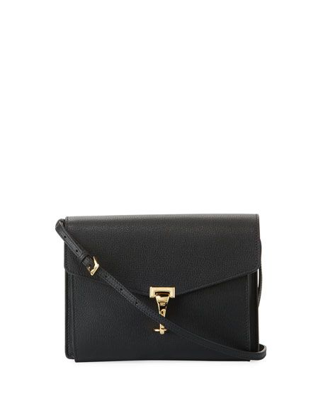 8f618f9a7830 BURBERRY Macken Small Derby Leather Crossbody Bag