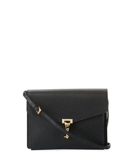 c983ad03a216 BURBERRY Macken Small Derby Leather Crossbody Bag