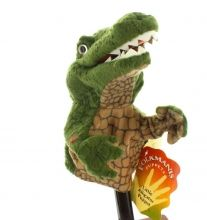 Krokodíl little alligator - Malé bábky Stage Puppets - Plyšové bábky Folkmanis - Bábkové divadlo - Hračky pre deti - Hračky a Detský nábytok- Detský Sen - Maxus