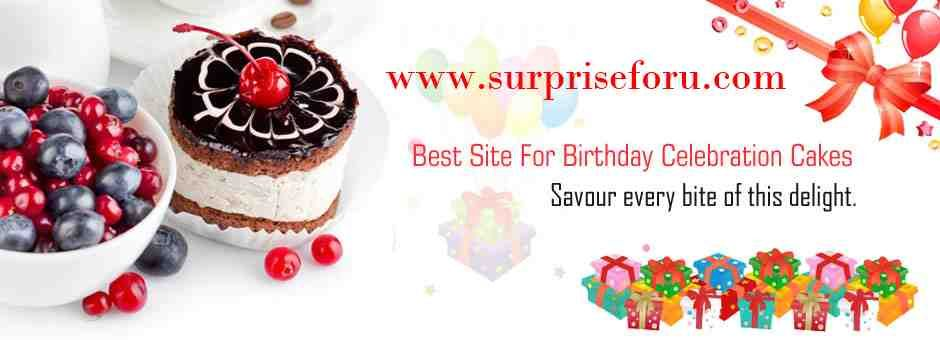 Planning To Buy A Birthday Cake Just Log On To Surpriseforu