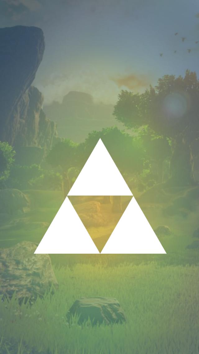 Lockscreens For Some Legend Of Zelda Symbols Just Another Legend Of Zelda Legend Of Zelda Breath Phone Background Wallpaper