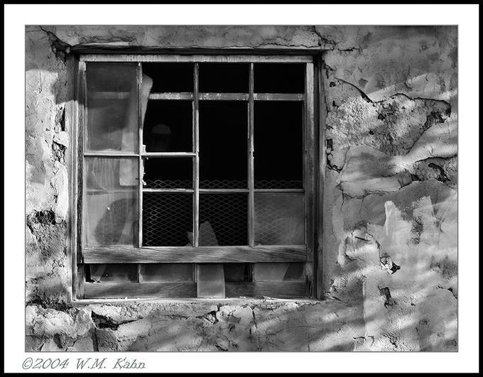 Grants Shack Window: Photo by Photographer William Kahn - photo.net