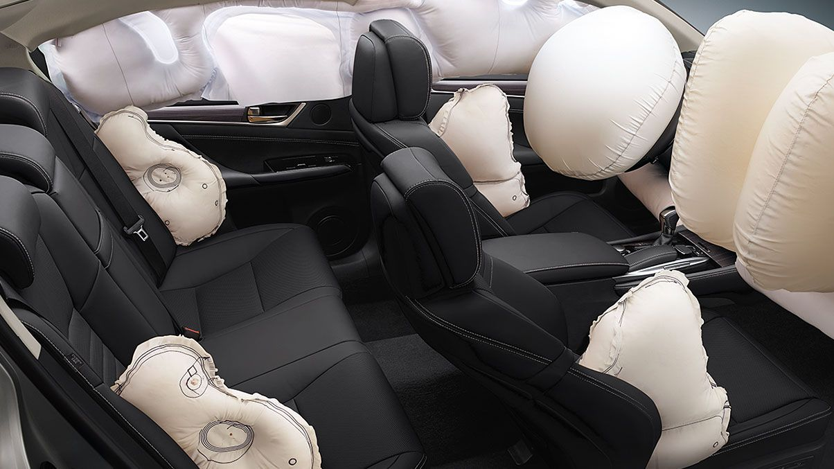 10 Standard Airbags In The Lexus Gx460 Lexus Models Lexus Model