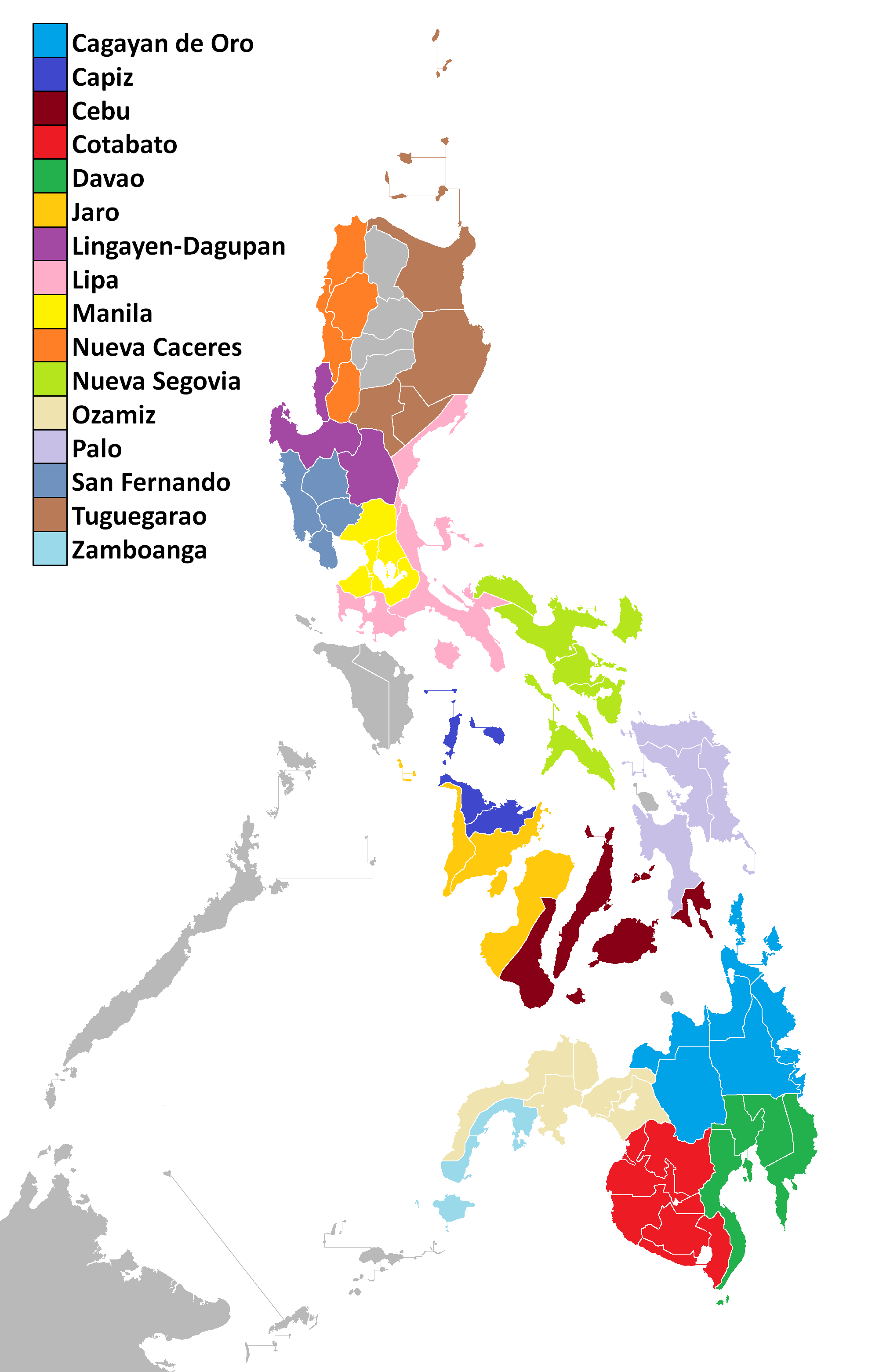 religions in the philippines Religions in the philippines (rip), manila, philippines 731 likes the philippines is a predominantly christian nation more than 86 percent of the.