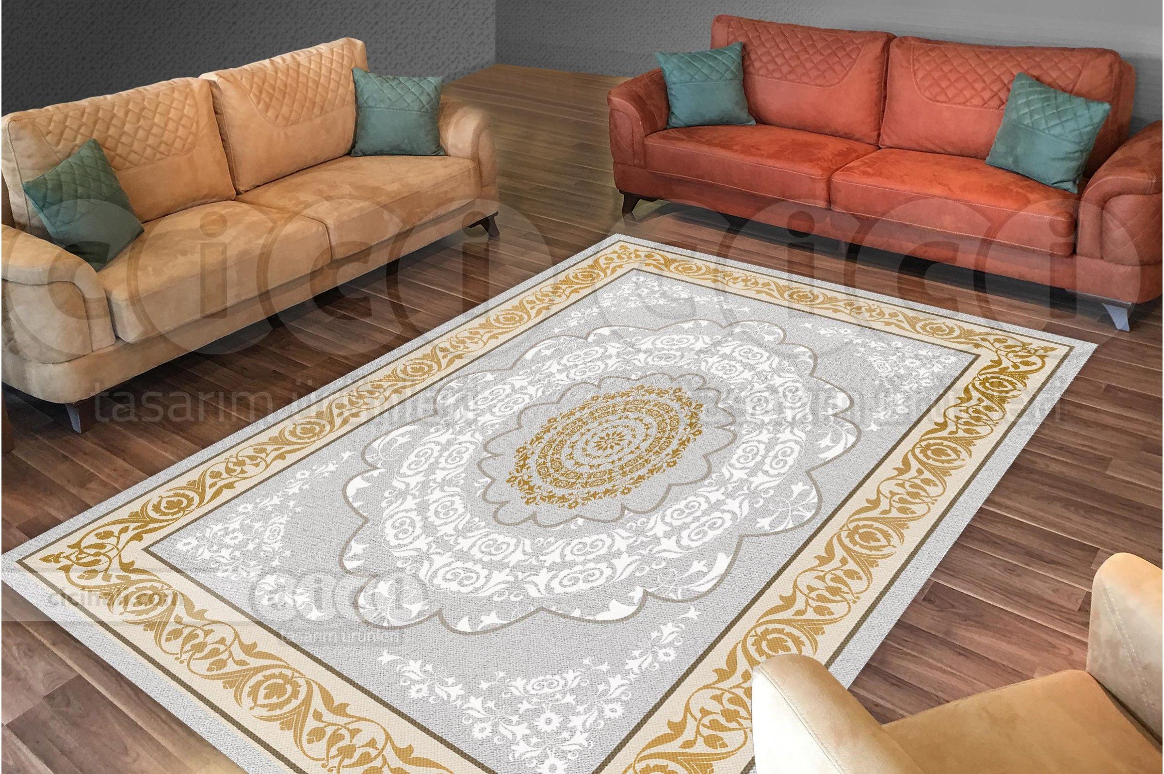 Osmanli Desenli Klasik Hali Gorunumlu Hali Ortusu Hali Nevresimi Rugs Decor Home Decor